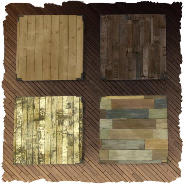 ECO Living coffee table recolors by Chalipo at All 4 Sims image 9314 Sims 4 Updates