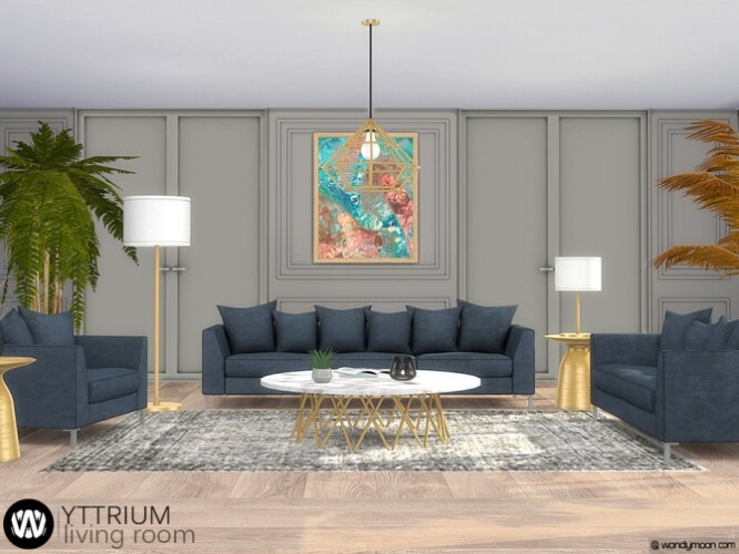 Yttrium Living Room by wondymoon