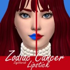 Zodiac Cancer Lipstick by Sagittariah