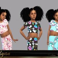 Samanta Sport Child 2 by LYLLYAN
