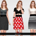Balone Skirt for Women 01 by remaron