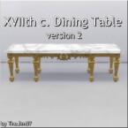 XVIIth century dining table by TheJim07