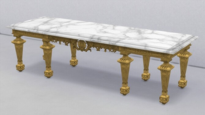 XVIIth century dining table by TheJim07 at Mod The Sims image 964 670x377 Sims 4 Updates
