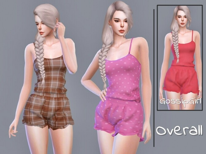 Sims 4 Overall by GossipGirl S4 at TSR