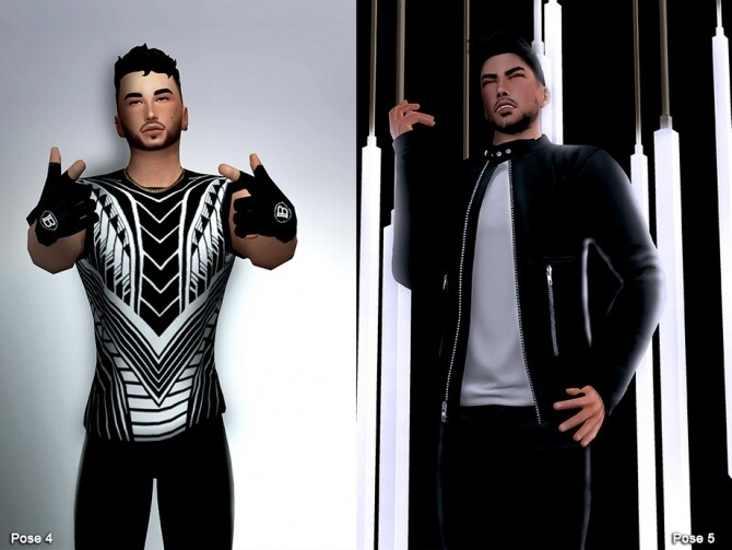 Sims 4 One Million II Pose pack by Beto ae0 at TSR