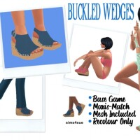 wedges and BOOTS
