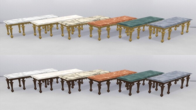 XVIIth century dining table by TheJim07 at Mod The Sims image 976 670x377 Sims 4 Updates