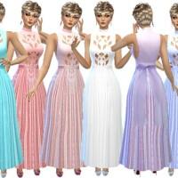 Formal dress with belt by TrudieOpp