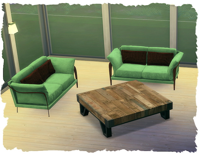 ECO Living coffee table recolors by Chalipo at All 4 Sims image 9814 Sims 4 Updates