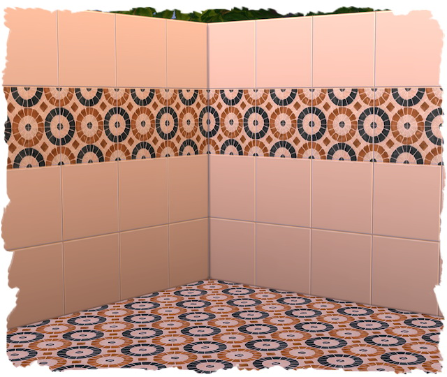 Tile wall by Chalipo at All 4 Sims image 9822 Sims 4 Updates