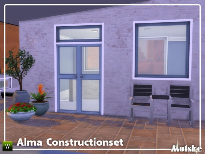 Sims 4 Alma Construction set Part 8 by mutske at TSR