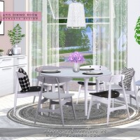 Avis Dining Room by NynaeveDesign