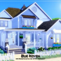 Blue Haven house by sharon337