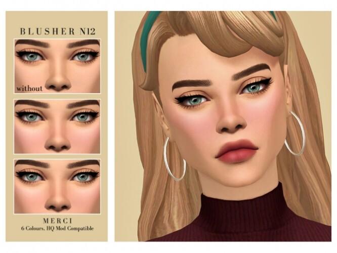 Blusher N12 by Merci