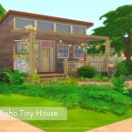 Boho Tiny House by Alenna