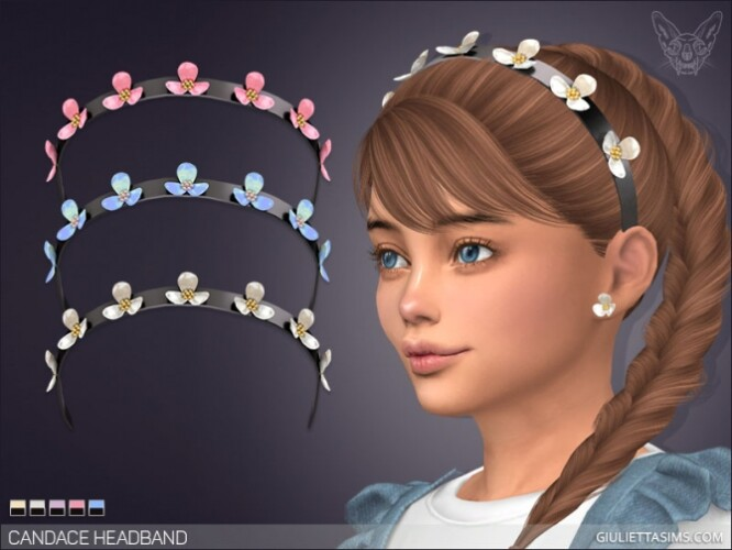 Candace Headband For Kids by Giulietta Sims