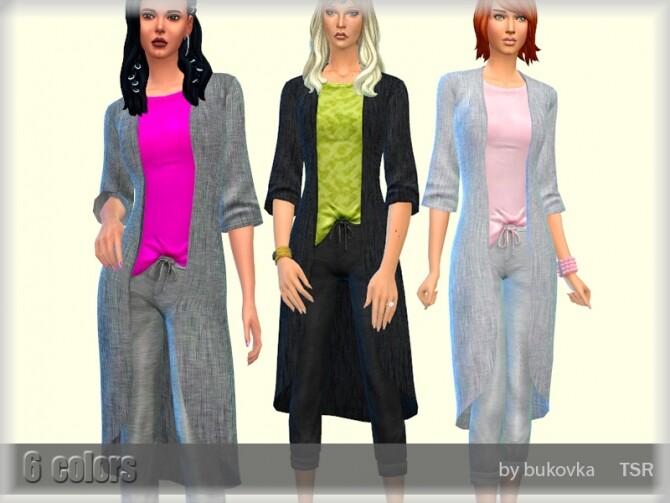 Cardigan Outfit by bukovka at TSR image Cardigan Outfit by bukovka 670x503 Sims 4 Updates
