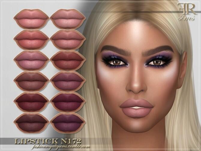 Sims 4 FRS Lipstick N172 by FashionRoyaltySims at TSR