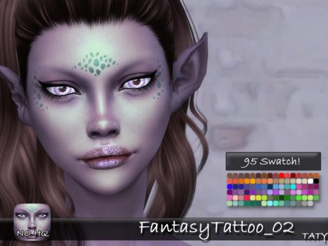 Fantasy Tattoo 02 by tatygagg