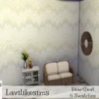 Heartbeat wallpaper by lavilikesims