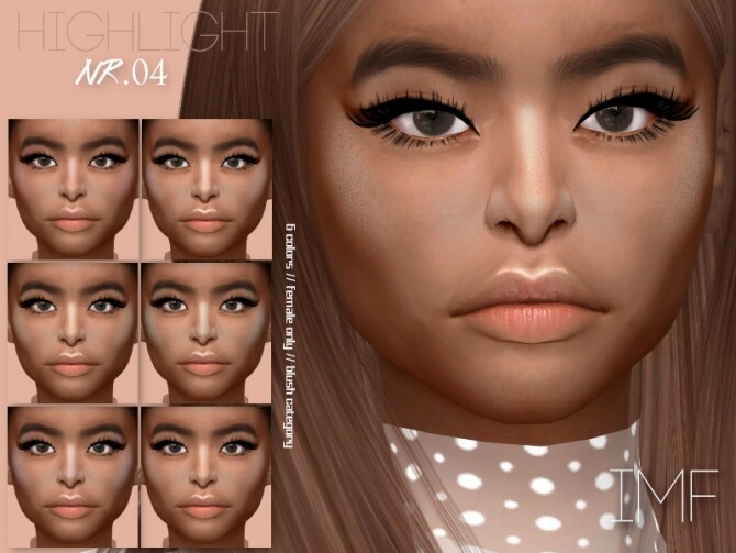 IMF Highlight 04 by IzzieMcFire at TSR image IMF Highlight 04 by IzzieMcFire 670x503 Sims 4 Updates