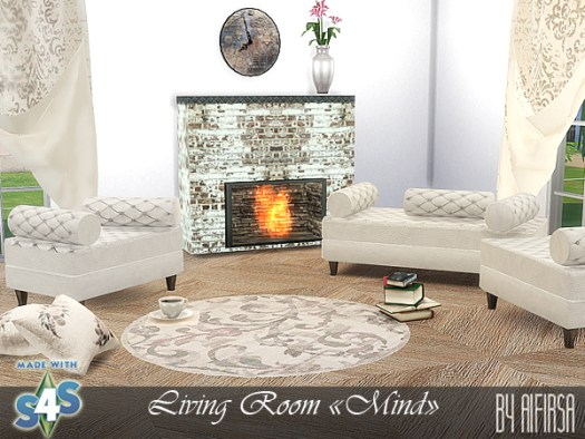 Mind living room by Aifirsa Sims