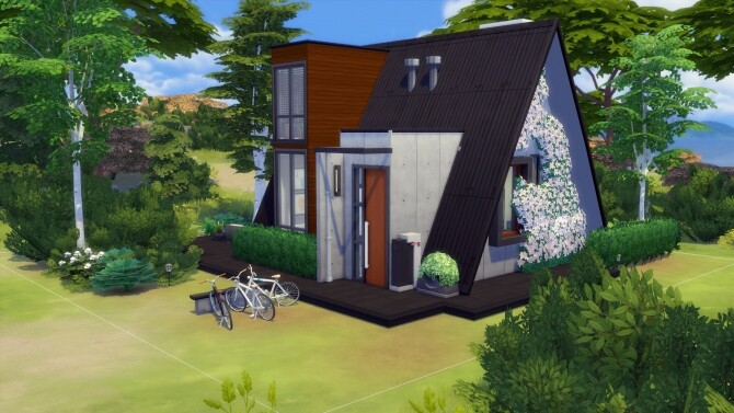 Modern A-Frame House No CC by Chaosking