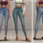 Nekane high waisted jeans by laupipi