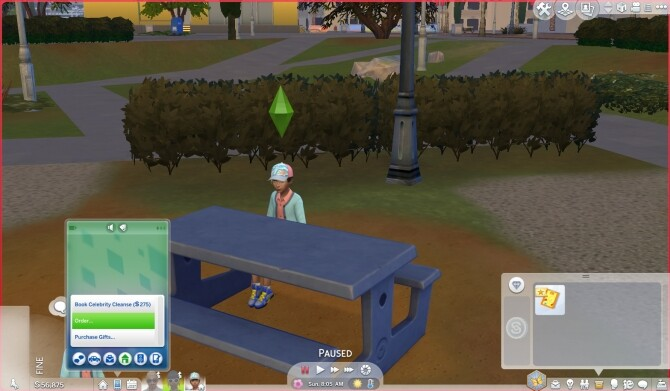 Sims 4 Ordering things on mobile by Szemoka at Mod The Sims