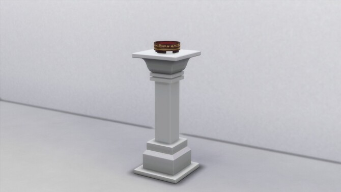 Ornate Display Stand by TheJim07 at Mod The Sims image Ornate Display Stand by TheJim07 2 670x377 Sims 4 Updates