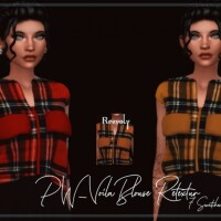 PW Voila Blouse Retexture by Reevaly