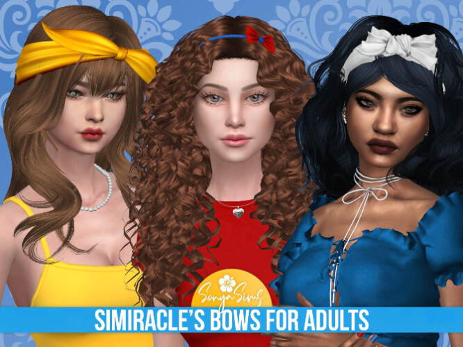 SIMIRACLE BOWS by Sonya Sims