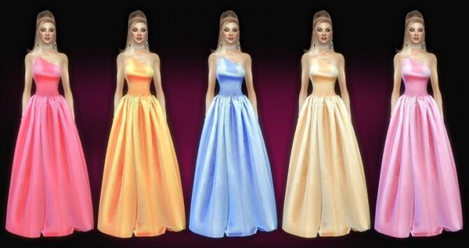 Seralie dress at Jomsims Creations image Seralie dress by Jomsims Creations 2 670x355 Sims 4 Updates