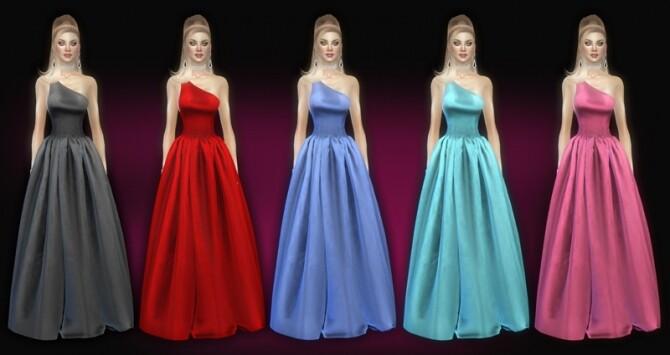 Seralie dress at Jomsims Creations image Seralie dress by Jomsims Creations 3 670x355 Sims 4 Updates