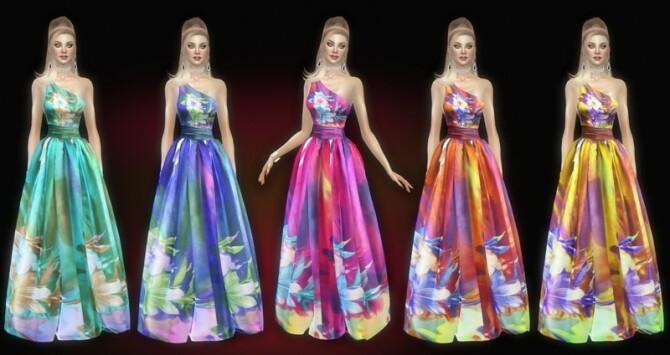 Seralie dress at Jomsims Creations image Seralie dress by Jomsims Creations 670x355 Sims 4 Updates