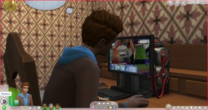 Sims 1 2 3 4 Custom Game Channel by CustomChannelMaker