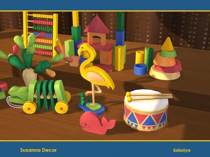 Susanna Decor by soloriya at TSR image Susanna Decor by soloriya 3 670x503 Sims 4 Updates