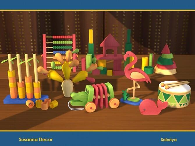 Susanna Decor by soloriya at TSR image Susanna Decor by soloriya 5 670x503 Sims 4 Updates