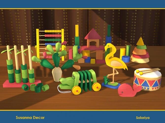 Susanna Decor by soloriya at TSR image Susanna Decor by soloriya 670x503 Sims 4 Updates