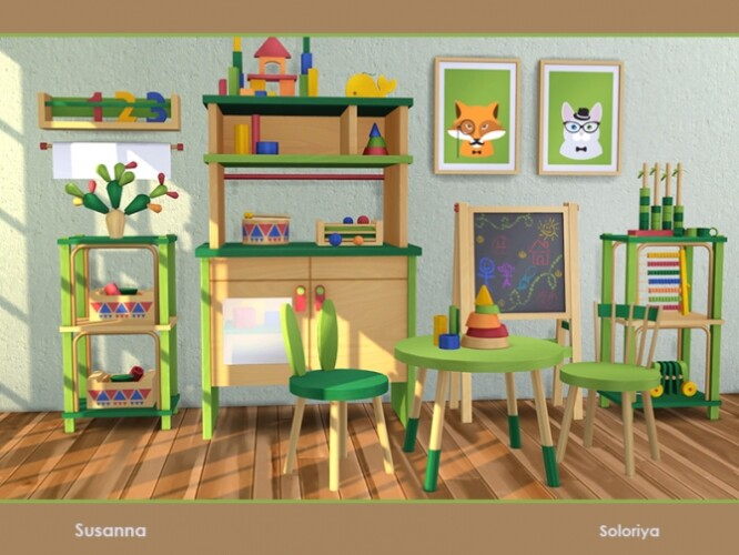 Susanna furniture for kids room by soloriya