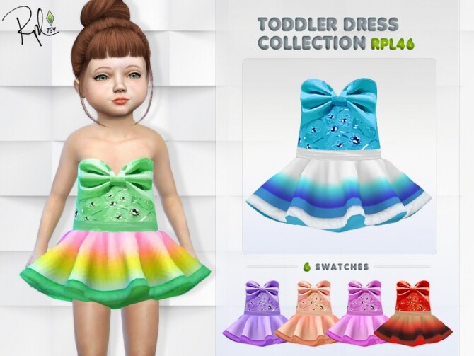 Toddler Dress Collection RPL46 by RobertaPLobo at TSR image Toddler Dress Collection RPL46 by RobertaPLobo 670x503 Sims 4 Updates