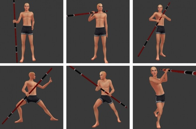 Sims 4 With staff poses at Rethdis love