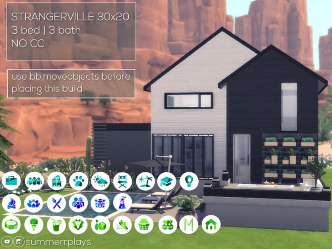 Sims 4 Ikea Home by Summerr Plays at TSR