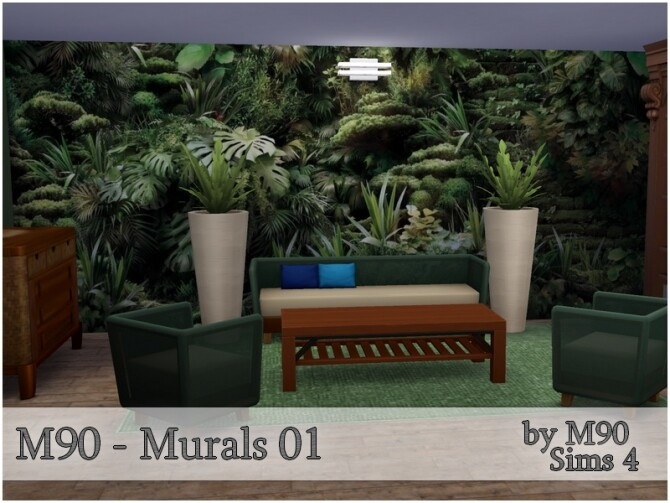 M90 Murals 01 by Mircia90 at TSR image 1013 670x503 Sims 4 Updates