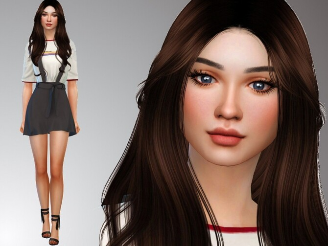Haylee Braden by Mini Simmer at TSR image 102 670x503 Sims 4 Updates