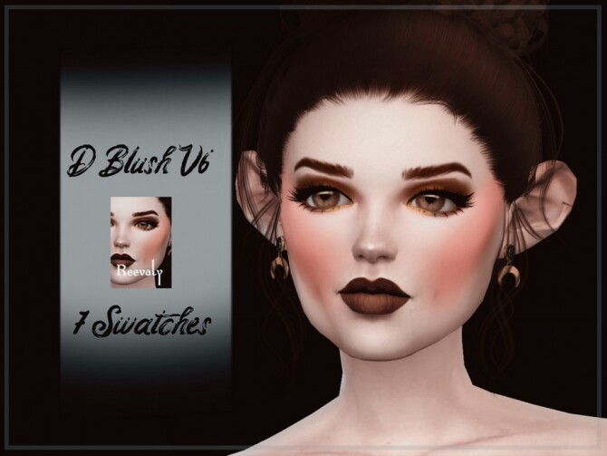 D Blush V6 by Reevaly at TSR image 1020 670x503 Sims 4 Updates