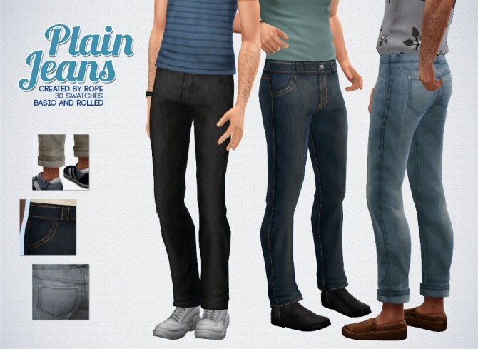Plain Jeans edit rolled-up version