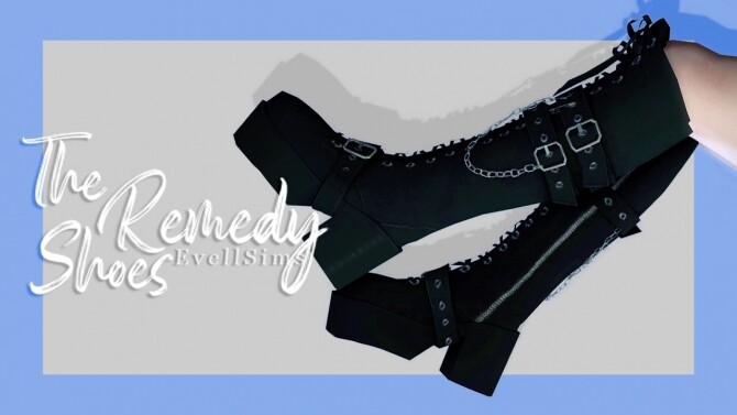 The Remedy goth boots