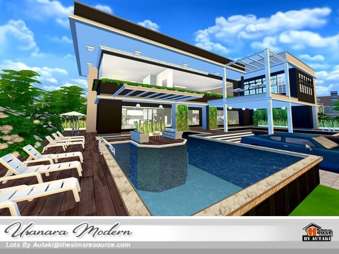 Usanara Modern house by autaki at TSR image 1022 670x503 Sims 4 Updates