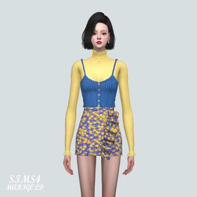 Sims 4 Layering See Through Mesh T shirts Gloves V3 at Marigold